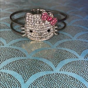 Hello kitty cuff bracelet